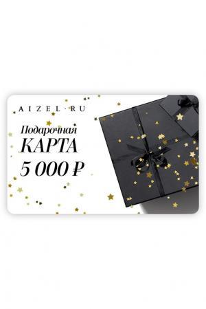 Подарочная карта 5000 Aizel. Цвет: без цвета