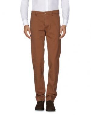 Повседневные брюки MASON'S. Цвет: коричневый
