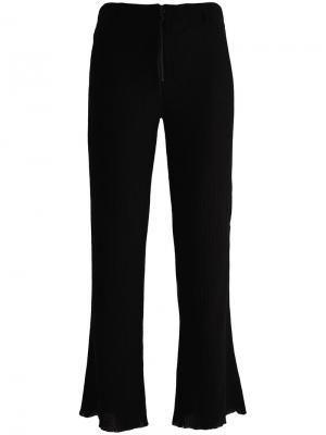 Укороченные брюки клеш Philosophy Di Lorenzo Serafini. Цвет: чёрный