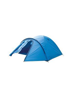 Палатка 3-х местная High Peak. Цвет: голубой