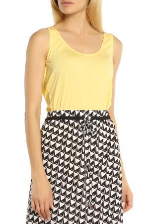 Рубашка Max Mara. Цвет: желтый