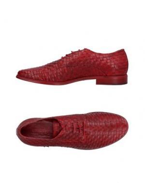Обувь на шнурках WEXFORD. Цвет: красный