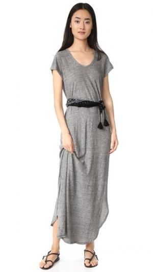 Макси-платье The Lady & Sailor. Цвет: серый меланж