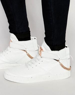 Cayler & Sons Высокие кроссовки Hamachi. Цвет: белый