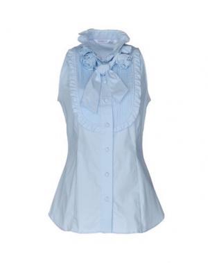Pубашка GUGLIELMINOTTI. Цвет: небесно-голубой
