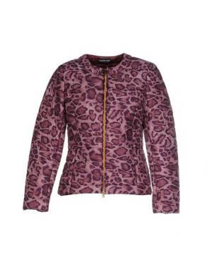 Куртка DANIELA DREI. Цвет: баклажанный