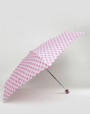 Totes Зонт в горошек. Цвет: серый