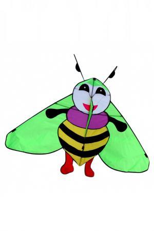 Воздушный змей BRADEX. Цвет: жёлтый, зелёный, чёрный