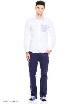 Рубашка Cropp. Цвет: белый