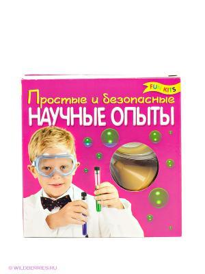Научные опыты Fun kits. Цвет: фуксия