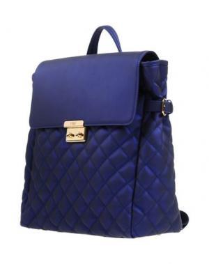 Рюкзаки и сумки на пояс POMIKAKI. Цвет: темно-синий