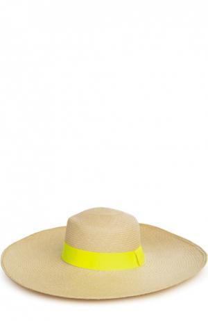 Шляпа пляжная Artesano. Цвет: желтый