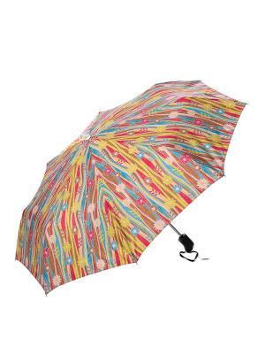 Зонт Stilla s.r.l.. Цвет: розовый, желтый