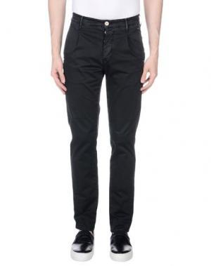 Повседневные брюки 0/ZERO CONSTRUCTION. Цвет: черный