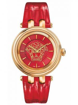 Часы Versace. Цвет: красный