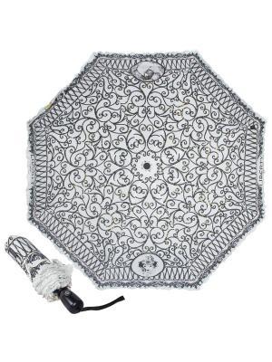 Зонт складной EMME M421C-OC Liberty Black. Цвет: белый