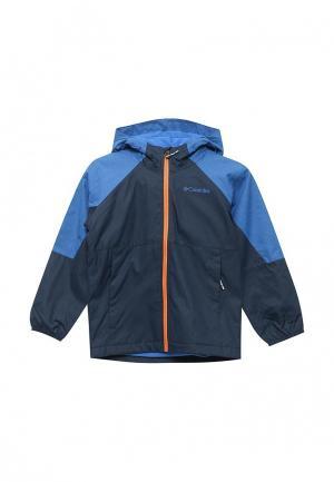 Куртка Columbia. Цвет: синий
