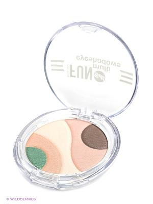 Тени для век многоцветные Colour Fun Multi Eyeshadows, тон 2 Bell. Цвет: прозрачный
