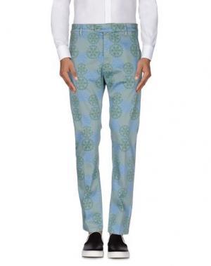 Повседневные брюки HAIKURE. Цвет: небесно-голубой