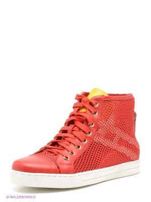 Ботинки Daze. Цвет: красный