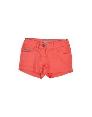 Повседневные шорты MIMISOL. Цвет: красный