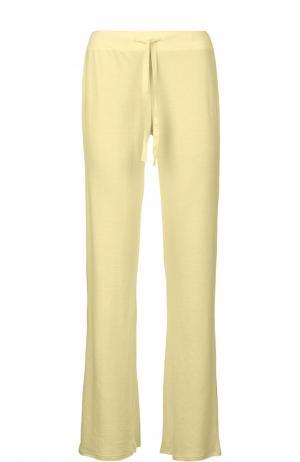 Спортивные брюки джерси Deha. Цвет: желтый