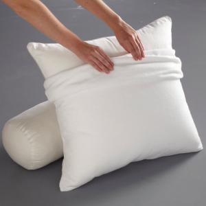 Чехол защитный для подушки из стретч-мольтона BEST. Цвет: белый