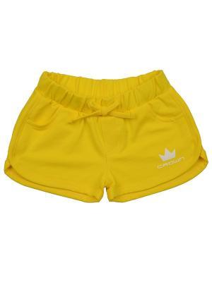 Шорты Mini Maxi. Цвет: желтый