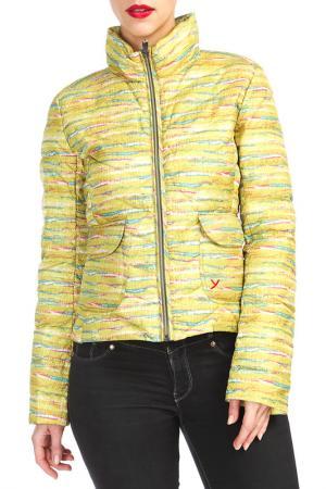Куртка YETI. Цвет: желтый