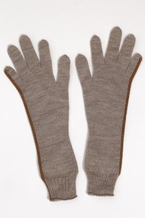 Перчатки Mariella Burani. Цвет: серый