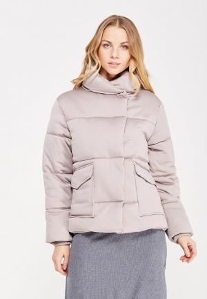 Куртка утепленная LOST INK. Цвет: серый