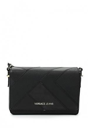 Сумка Versace Jeans. Цвет: черный