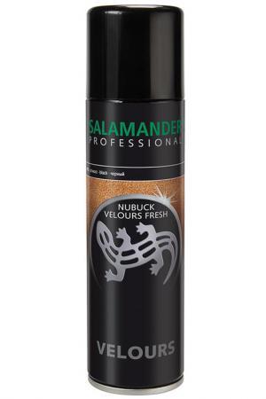 Спрей для замши, нубука ЧЕРНЫЙ Salamander Professional. Цвет: none