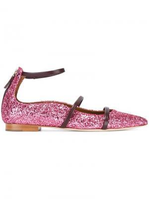 Балетки Robyn Malone Souliers. Цвет: розовый и фиолетовый