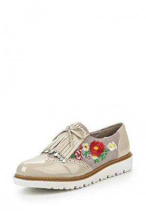 Ботинки Mellisa. Цвет: серый