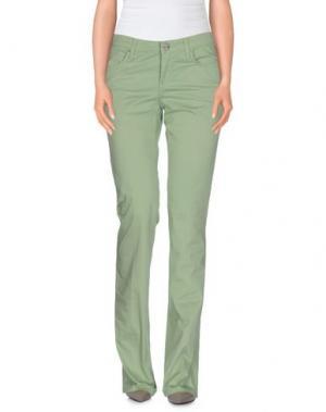 Повседневные брюки SEVEN7. Цвет: светло-зеленый