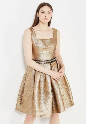 Платье To be Bride. Цвет: золотой