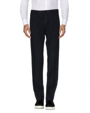 Повседневные брюки CANTARELLI. Цвет: темно-синий