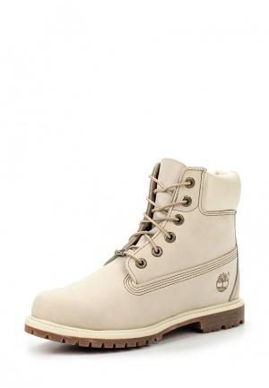 Ботинки Timberland. Цвет: белый