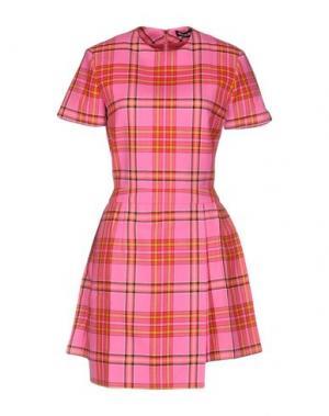 Короткое платье HOUSE OF HOLLAND. Цвет: розовый