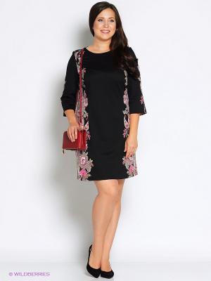 Платье Битис. Цвет: черный