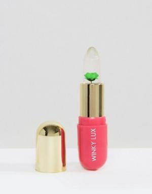 Winky Lux Бальзам, проявляющий цвет в зависимости от уровня pH кожи губ, с зелен. Цвет: прозрачный