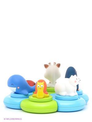 Игрушка для ванны Остров Sophie la girafe. Цвет: белый, красный