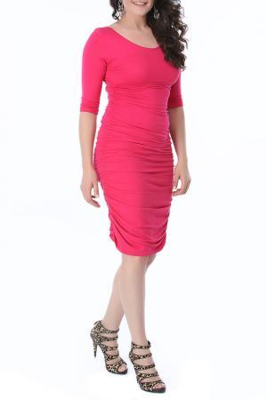 Платье VALERIA FRATTA. Цвет: fuschia