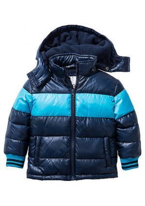 Стеганая куртка. Цвет: зеленый, синий