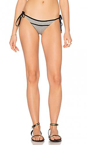 Низ бикини с завязками по бокам SOFIA by ViX. Цвет: серый