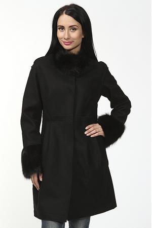 Пальто Benedetta Novi. Цвет: черный