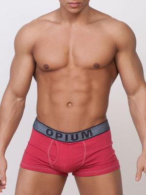 Трусы OPIUM. Цвет: красный