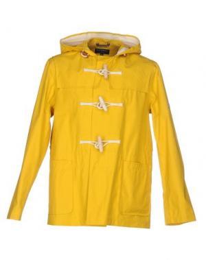 Куртка GLOVERALL. Цвет: желтый