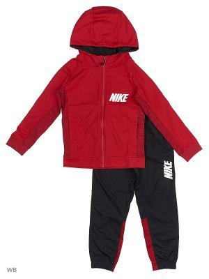 Костюм B NSW TRK SUIT POLY Nike. Цвет: красный